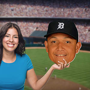 Miguel Cabrera Big Head Cut Out